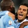 Tim Cup, Lazio-Juventus 2-1: Floccari all'ultimo respiro, biancocelesti in finale