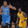 NBA, Sesta sconfitta consecutiva per i Lakers contro Oklahoma: ora è crisi profonda