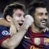 Liga: Villa, Messi e Modric a segno come in Champions
