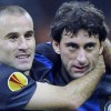 Europa League, l'Inter distrugge il Cluj con Palacio ma è ansia per Milito: lesione al crociato?