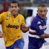 Sampdoria-Juventus 0-1: Tevez cinico, Da Costa numero uno. Le pagelle