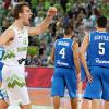 Eurobasket 2013: Dragic scatenati, prima sconfitta per l'Italia contro la Slovenia
