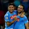 Il Napoli soffre, Higuain lo tira fuori dai guai: Marsiglia sconfitto 3-2