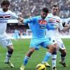 Napoli-Sampdoria 2-0. Doppio Mertens vale il terzo posto. Rivivi il match