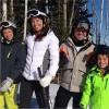 Hamilton e Barrichello, le loro foto sugli sci infiammano il web