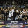La Beko Supercoppa 2014 si giocherà a Sassari