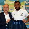 """Inter, M'Vila si presenta: """"Ho rinunciato a molti soldi per venire qui"""""""