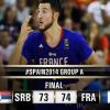 Fiba World Cup, Girone A: Francia di misura, tutto facile per Brasile e Spagna