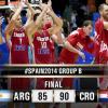 Fiba World Cup, Girone B: la Croazia doma l'Argentina, bene Grecia e Senegal