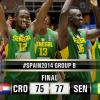 Fiba World Cup, Girone B: il Senegal gela la Croazia, Grecia in scioltezza, l'Argentina col fiatone contro le Filippine