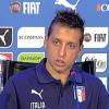 """Italia, Giaccherini: """"Ho ritrovato Conte con grande voglia di vincere"""""""