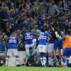 Genoa-Sampdoria 0-1: botte e sbadigli, decide Gabbiadini
