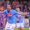 Fiorentina-Napoli 0-1: ruggito di Higuain