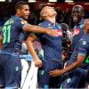 Napoli-Young Boys 3- 0: tripletta di De Guzman
