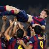 Liga: poker Real Madrid, Messi da record