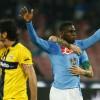 Pagelle Napoli-Parma 2-0: Zapata monstre, Gobbi anche