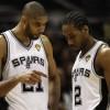 Da Tim Duncan a Kawhi Leonard: gli Spurs stanno passando di mano