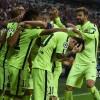 L'immagine più bella di Bayern-Barcellona