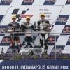 Moto3, a Indianapolis gara ribaltata dalla pioggia che non c'è, vince Loi