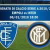 Empoli-Inter 0-1: le emozioni del match nel commento radio