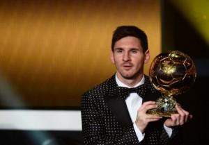 Leo Messi Pallone d'oro-2012