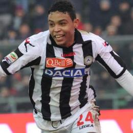 Luis Muriel, attaccante dell'Udinese