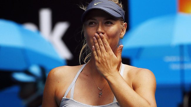 Maria Sharapova vince contro Madison Keys
