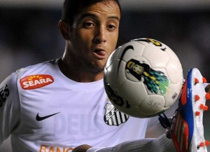 Felipe Anderson, talento del Santos