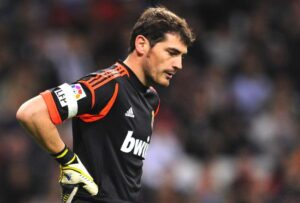 Iker Casillas, oggi tenuto in panchina