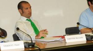 Riccardo Grittini, l'ex assessore leghista coinvolto nei cori razzisti