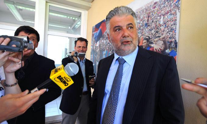 Albano Guaraldi, nel mirino dei tifosi del Bologna