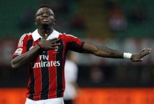 Muntari, autore del secondo gol del Milan