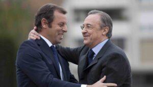 Florentino Perez e Sandro Rossell: sono loro i paperoni del calcio