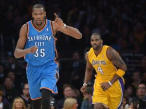 Durant, MVP della notte