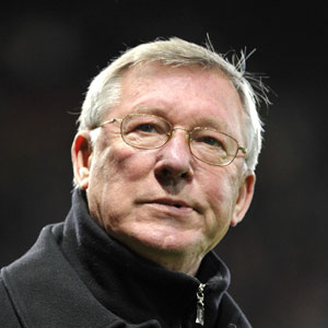 Sir Alex Ferguson, tecnico del Manchester United