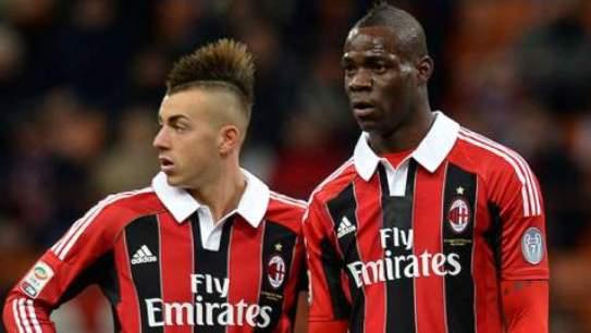 Milan-Palermo: tridente pesante con Balotelli, El Shaarawy e Boateng. Probabili formazioni