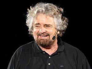 Beppe Grillo, leader del M5S, primo partito del Paese