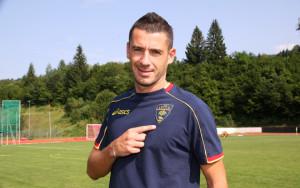 Tarvisio(UD)ritiro del Lecce calcio