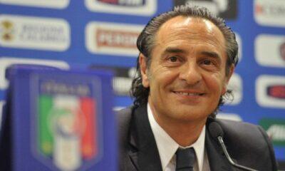 Il ct azzurro Cesare Prandelli.