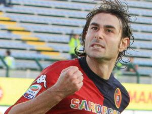 Daniele Conti, centrocampista del Cagliari