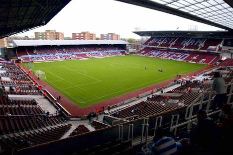 Lo stadio di Upton Park, tana del West Ham