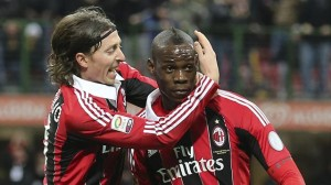 Riccardo Montolivo e Mario Balotelli, Milan