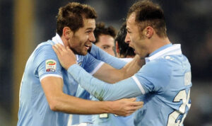 Lulic, difensore della Lazio, match winner della Tim Cup