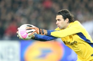 Salvatore Sirigu, decisivo nella gara tra Metz e Paris Saint Germain