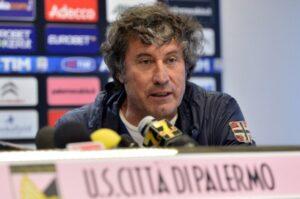 Alberto Malesani, tecnico rosanero