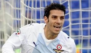 Sergio Floccari, attaccante della Lazio