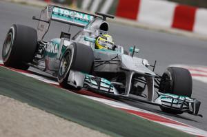 Nico Rosberg su Mercedes