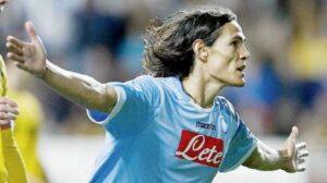 Napoli-Atalanta 3-2: Cavani tiene in vita il campionato, Juventus a -9