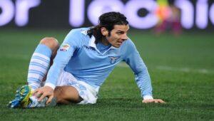 Europa League: Sergio Floccari, attaccante della Lazio.