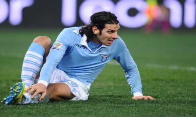Sergio Floccari, attaccante della Lazio.